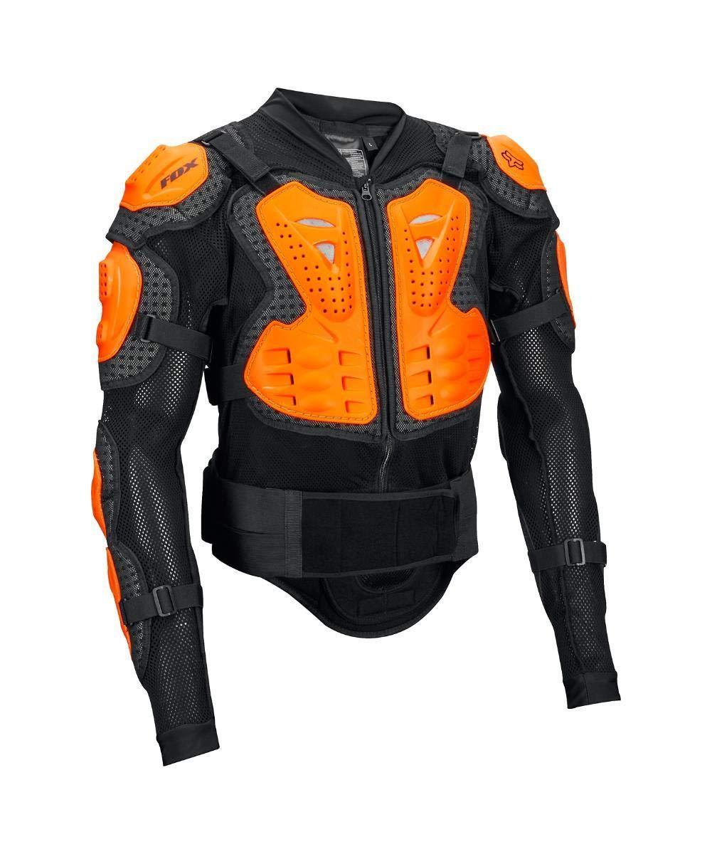 Fox Racing Titan Sport Jacket-Black/Orange-2XL by Fox Racing