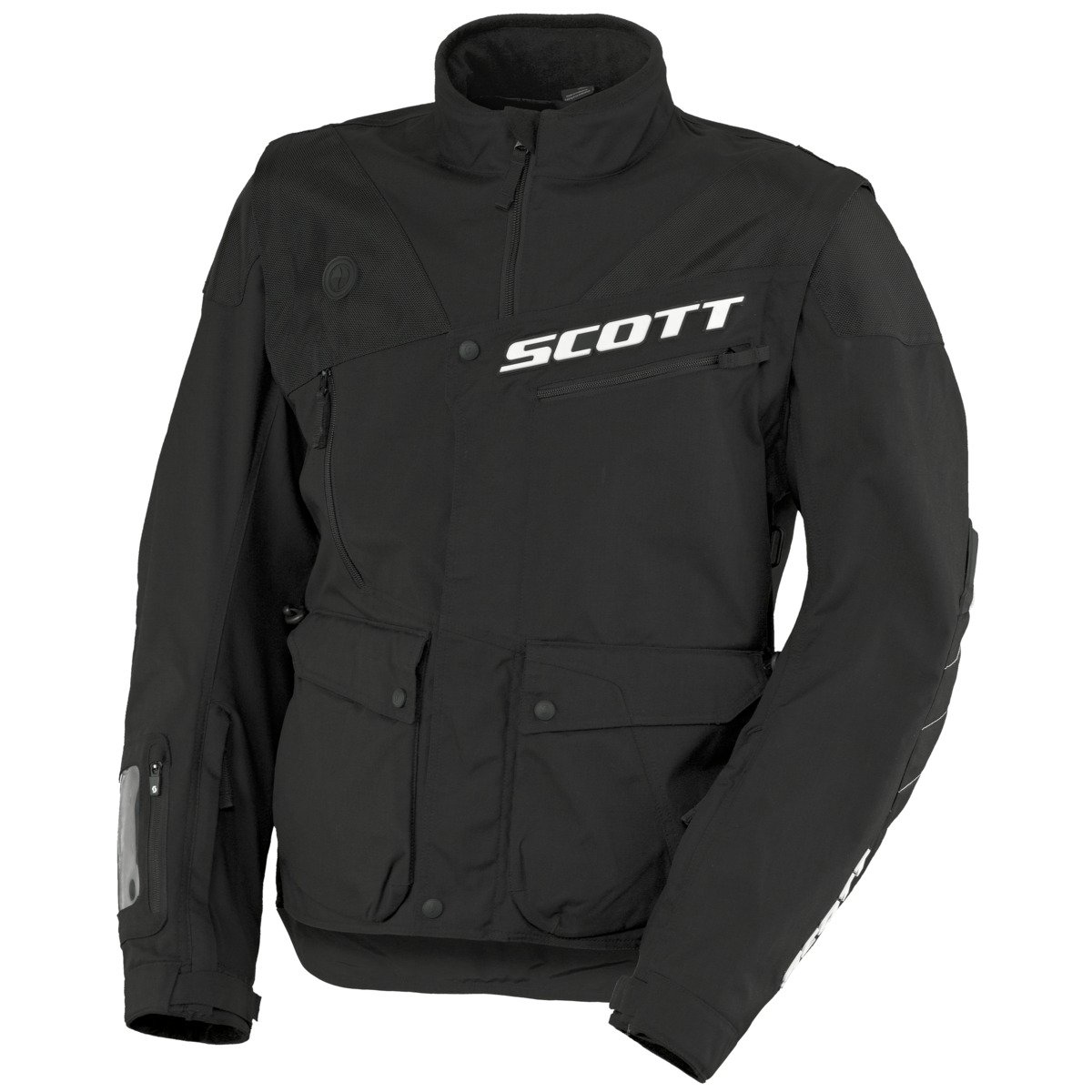 Scott 350 Enduro MX/Cross - Chaqueta de moto negro/blanco ...
