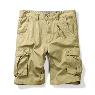 Brand Mens Military Cargo Shorts New Army Camouflage Shorts Men 100% Cotton Loose Work Casual Short Pants Plus Size 38 40 Casual Shorts