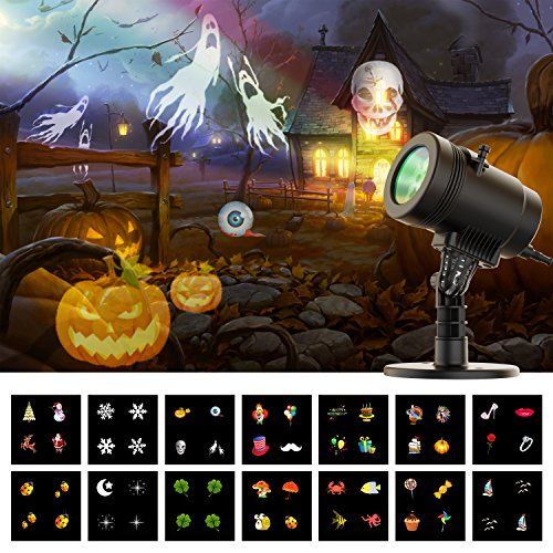 Centeni halloween light projector christmas decoration - Halloween laser light show ...