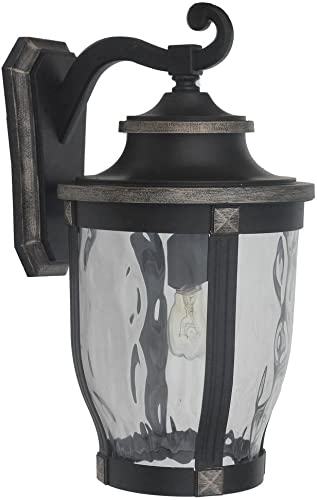 Home Decorators Collection McCarthy 1-Light Bronze Outdoor Wall Mount