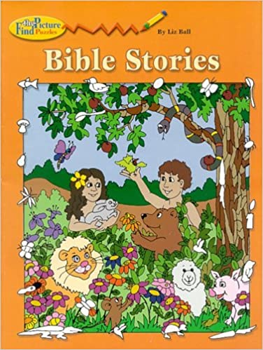 Bible Stories Find Picture Puzzle Liz Ball 9780819811639 Amazon