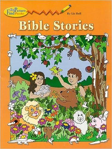 photograph regarding Bible Story Hidden Pictures Printable named Bible Experiences: Obtain Visualize Puzzle: Liz Ball: 9780819811639