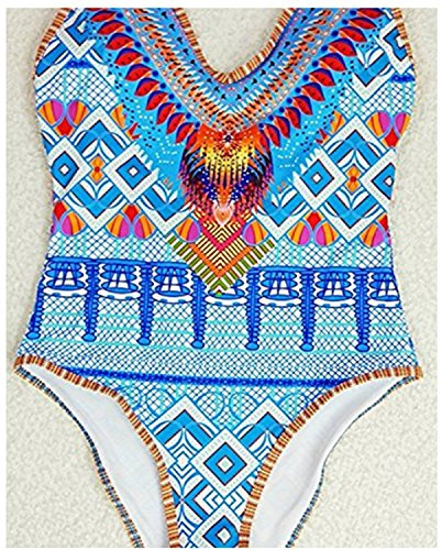 SHUNLIU Traje de Baño Mujer Bikini Atractiva Bikini Traje de Baño Impresión Mujer Bañadores Ropa de Baño