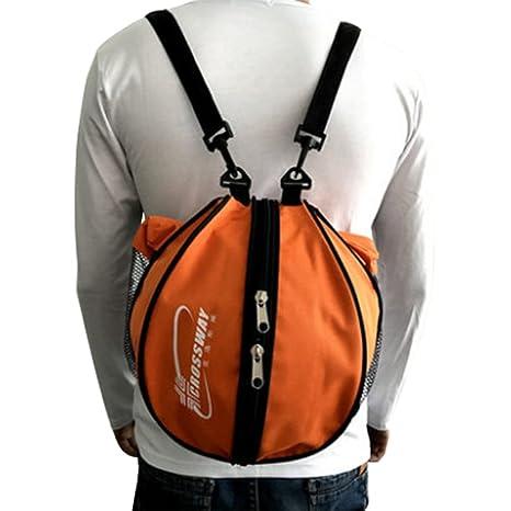 Bolso para pelota, para entrenamientos de deportes al aire libre, fútbol, rugby, voleibol, baloncesto, color rojo, tamaño talla única: Amazon.es: Deportes y ...