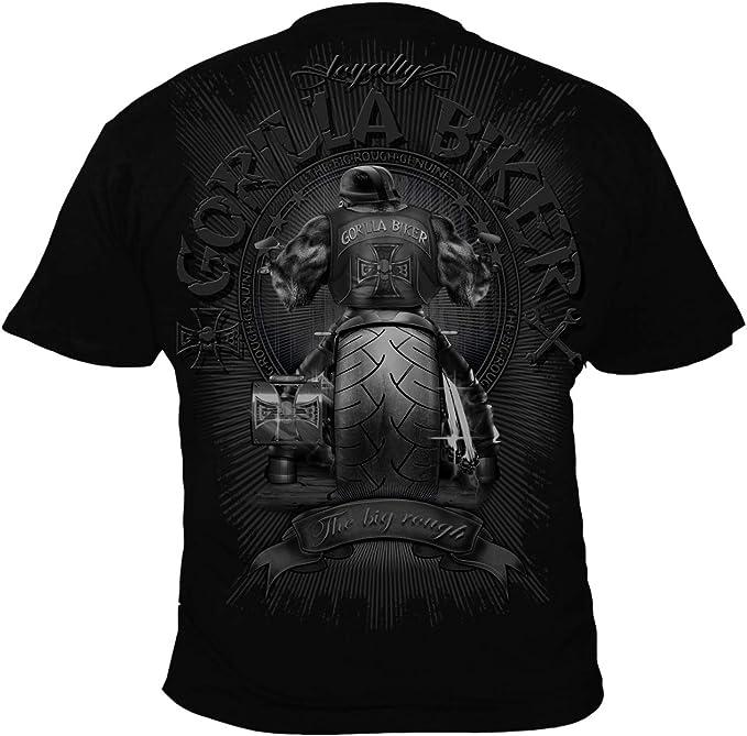 gb40 gorilla biker big wheel herren college jacke