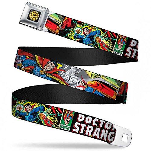 Classic Doctor Strange Comic Book Title Seatbelt Belt