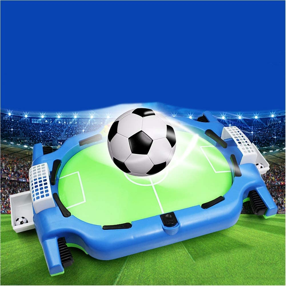 TXDWYF Futbolín de Sobremesa Portátil Mini/Futbolín Foosball Juego ...