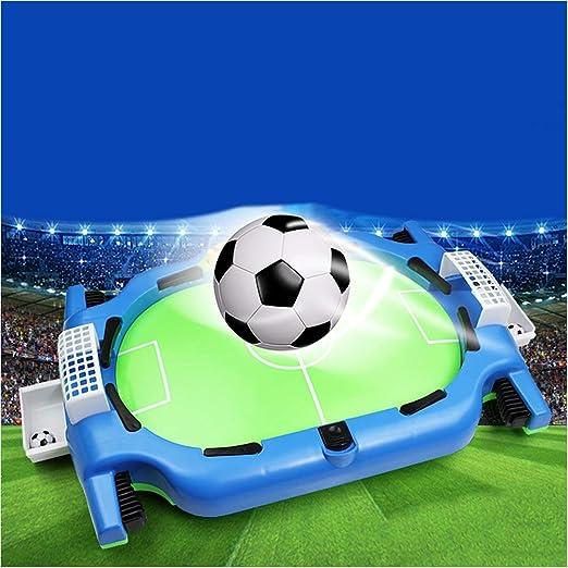 TXDWYF Futbolín de Sobremesa Portátil Mini/Futbolín Foosball Juego, para diversión en Familia con niños y Adultos: Amazon.es: Hogar