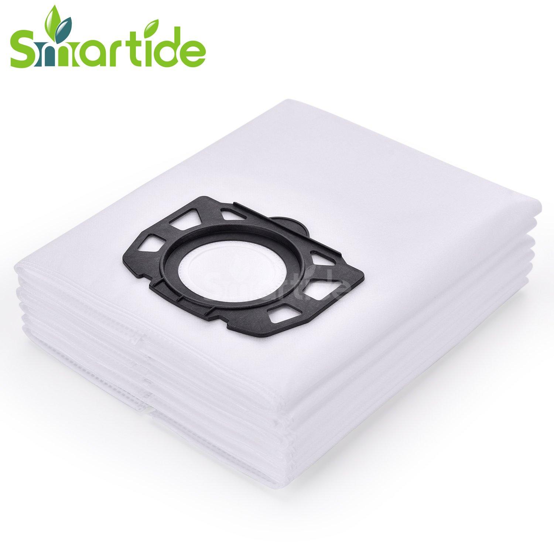 smartide 6 pack karcher polaire sacs filtrants remplacement pour wd4 wd5 wd5 p aspirateur. Black Bedroom Furniture Sets. Home Design Ideas