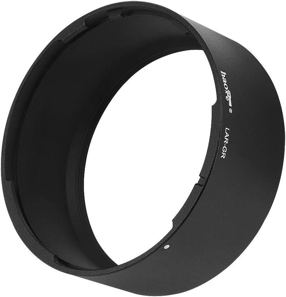 Haoge LAR-GR Lens Filter Adapter Ring for RICOH GR III GRIII GR3 Digital Compact Camera for GW-4 Wide Conversion Lens Replaces GA-1