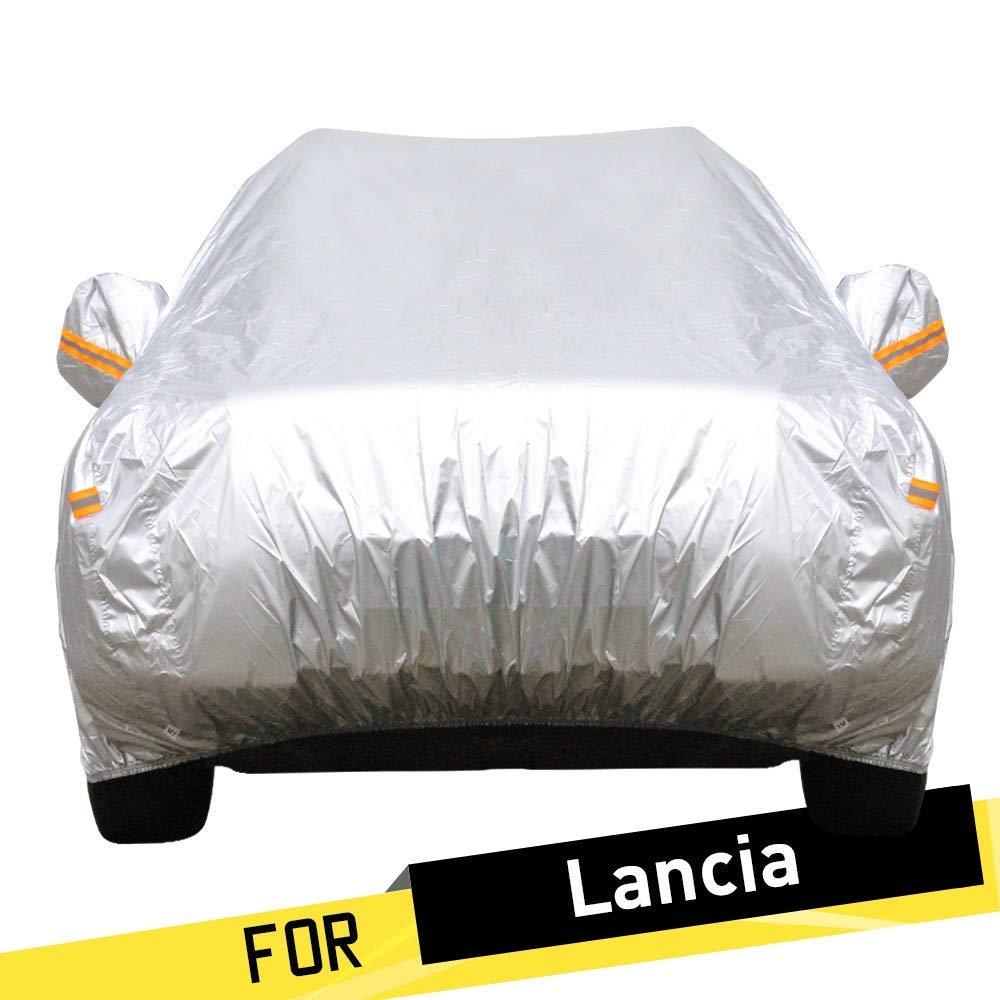 車のカバー防水車のカバー自動車の反紫外線日光降雪保護カバー防塵 (Color : For Lancia Delta)  For Lancia Delta B07THJ3GSK