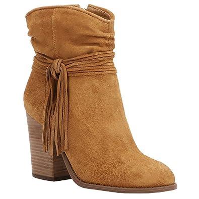 Amazon.com | Jessica Simpson Women\'s Sesley Ankle Bootie | Shoes