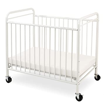 Superieur LA Baby The Condo Metal Evacuation Window Crib, White
