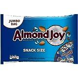 ALMOND JOY, Chocolate Coconut Candy Bar, Snack Size, 20.1 Ounce