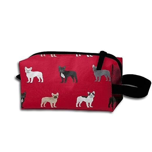 Francés Bulldogs perro Kit de viaje organizador baño ...