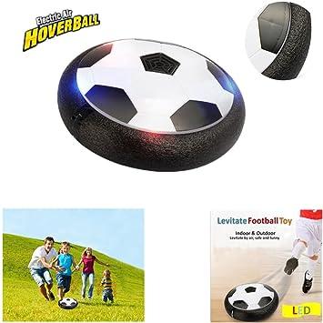 6c9a3d55e2b7 Kids Hover Ball Toys Air Power Soccer Disc Air Soccer Football Training Ball  with LED Lights