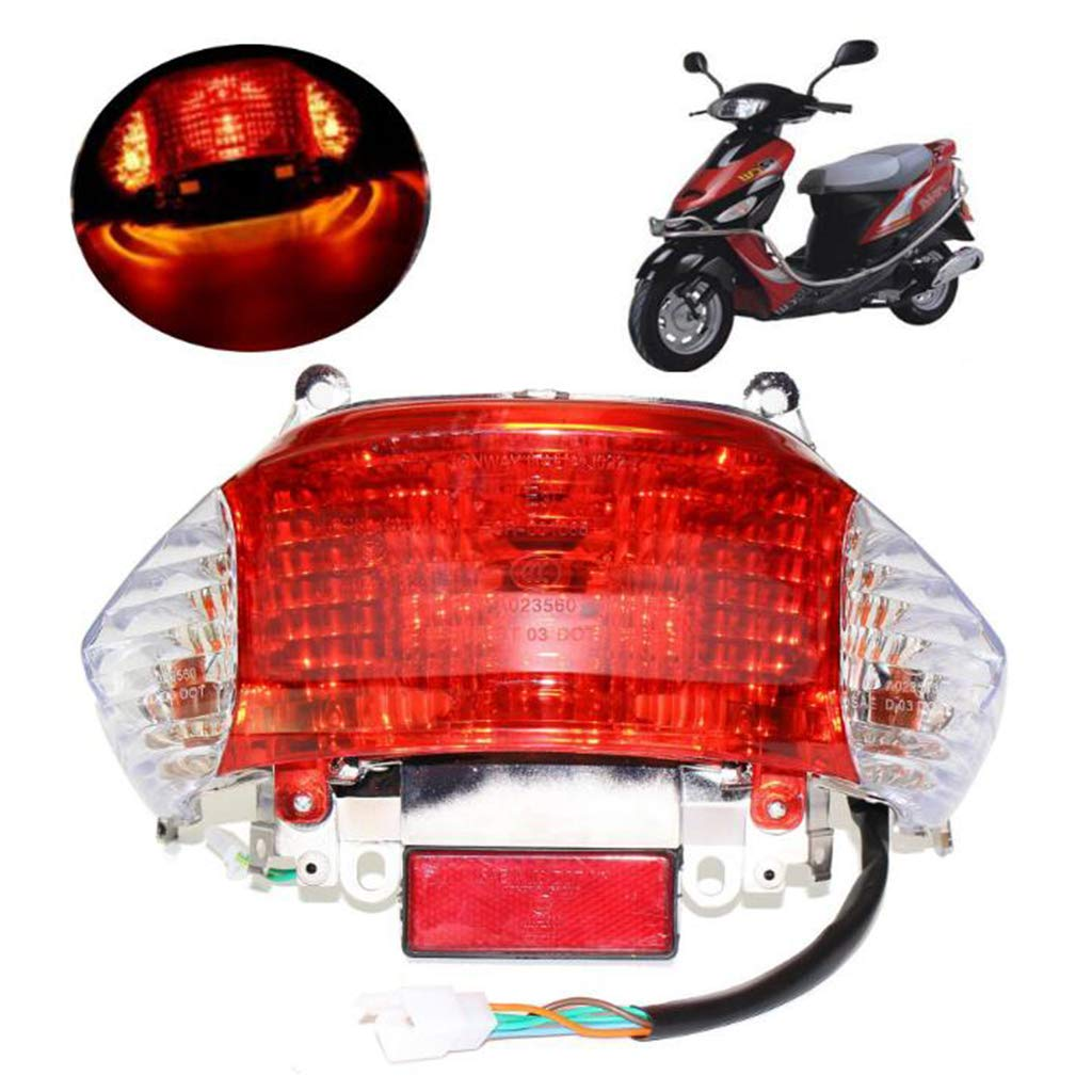 Replacement Parts Body Flameer Tail Light Turn Signal for GY6 50cc