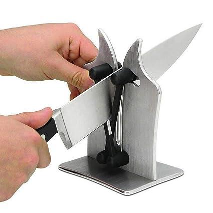 Afilador de cuchillos HanDHELD Afilador de hojas Tijeras Cuchillos Lisos y Sierra Afiladora