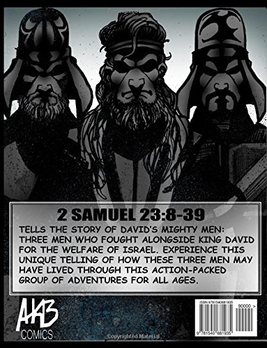 Davids Mighty Men A Comic Book Based On 2 Samuel 238 39 Adam Boggs 9781540681935 Amazon Books