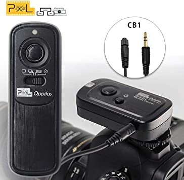 Pixel RW-221 CB1 Wireless Shutter Release Cable Remote Control for Olympus Digital Cameras Replaces Olympus RM-CB1