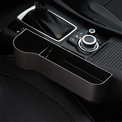 Samber Car/Gap Storage/Box Organizer Console Car Storage Box Cup/Holder/Mobile/Phone/Holder/Multifunctional/Auto/Accessories Storage/Box//Left-Beige