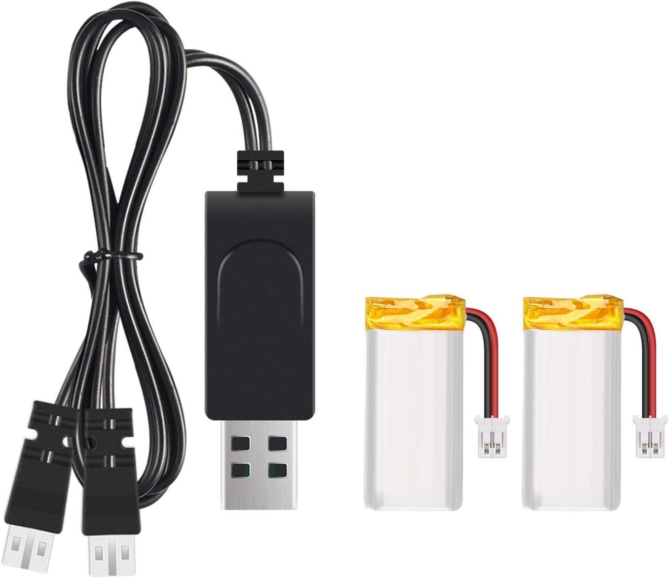 SNAPTAIN SP350 Kit de baterías para Drones, 2 baterías de Drone para SNAPTAIN SP350 Drone con Cargador USB 2 en 1 (1 Unidad): Amazon.es: Electrónica