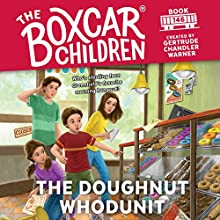 The Doughnut Whodunit Audiobook by Gertrude Chandler Warner Narrated by Aimee Lilly