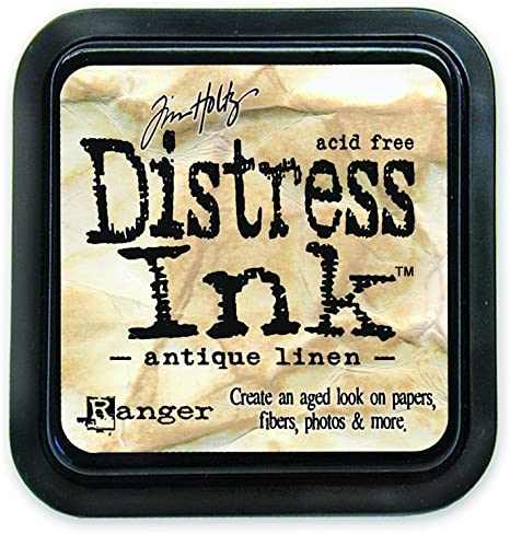 Ranger Tim Holtz Distress Oxides Ink Pads Antique Linen