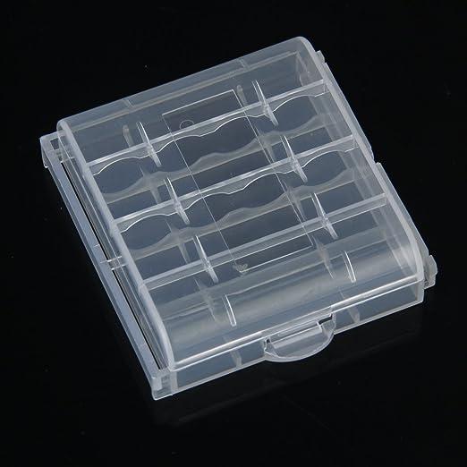 H HILABEE Estuche De Plástico Duro Caja De Almacenamiento Para 4 ...