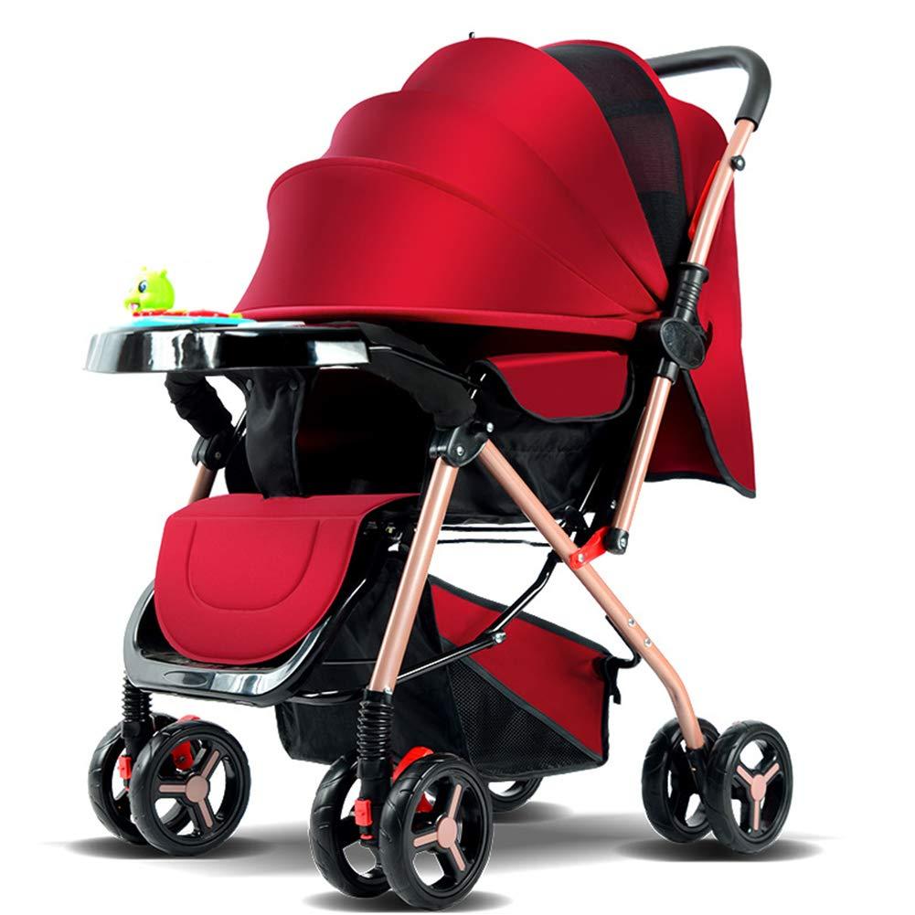 ベビーカー軽量折りたたみ傘ベビーカー新生児用超軽量ポータブルベビーカー,a  a B07S8H343S