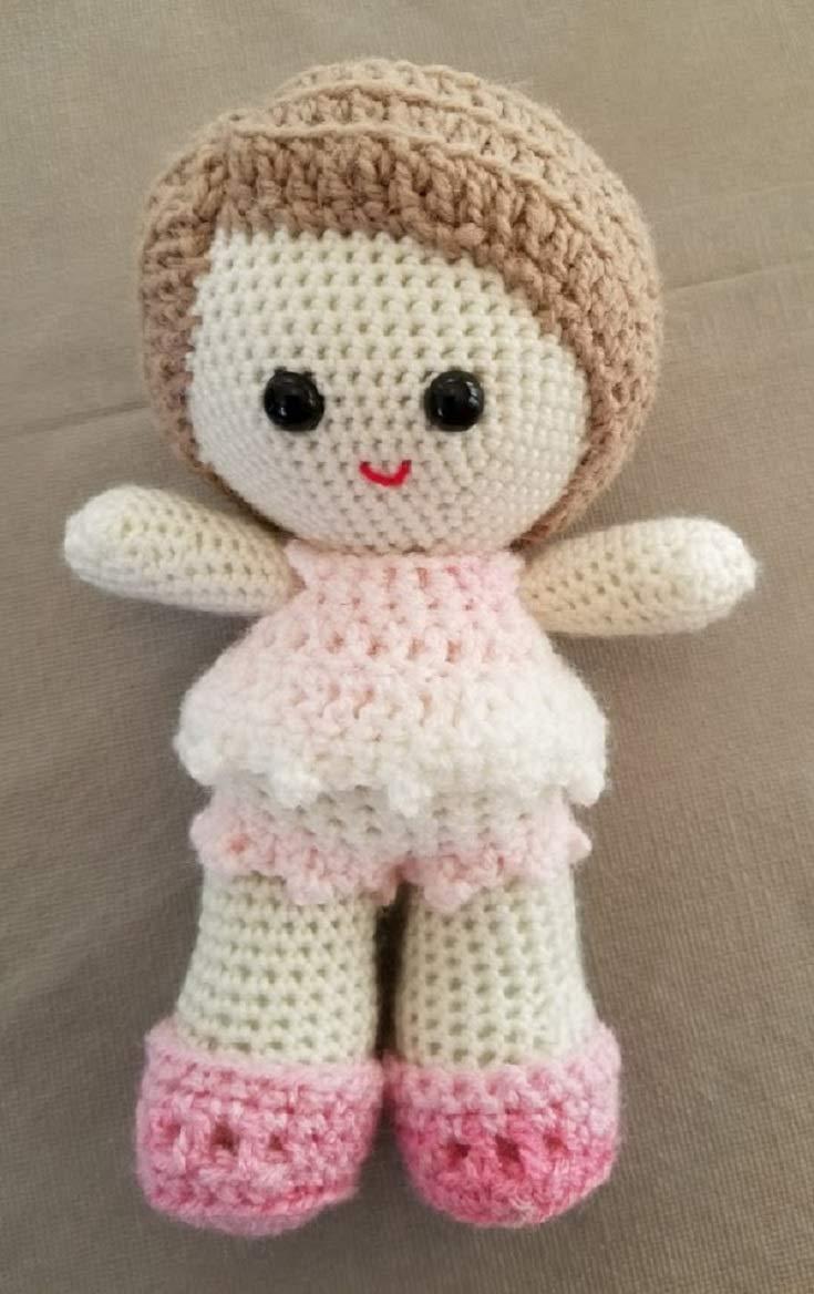 Amazon com: Crochet Doll, Dolls, Childrens Dolls, Baby Dolls for