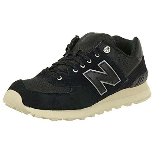 huge selection of 43b5d 72172 New Balance 574, Zapatillas para Hombre, Negro (BlackSand), 44 EU Amazon. es Zapatos y complementos