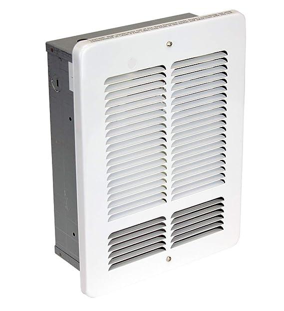KING W1210-W W Series Wall Heater, 1000-Watt / 120-Volt, White