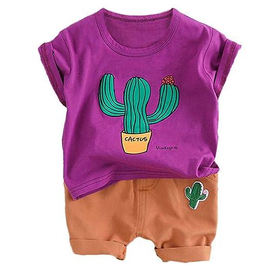 Sunlera Cactus - Camiseta para niños - Disfraz de Verano - Ropa ...