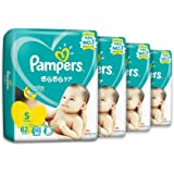 Pampers Baby Dry Tapes, Small, Carton, 82 Count (Pack of 4)
