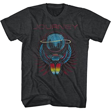 Journey Beetle Planet Rock Music Adult T Shirt