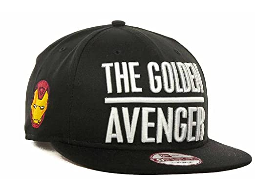 6ed1e8c40e4 Marvel Comics Men s Ironman AKA The Golden Avenger New Era 9FIFTY ...