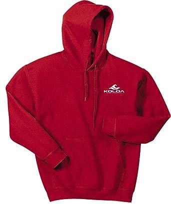 c257799c21740 Koloa Classic 2 Side Wave Logo Hoodies-Hooded Sweatshirt-Ant.Cherry.Red