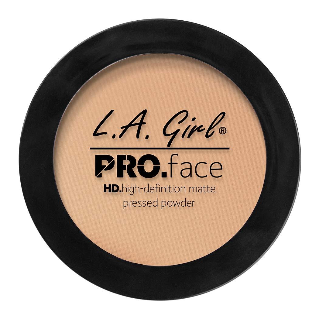 L.A. Girl Pro Face HD Matte Pressed Face Powder Nude Beige 7g