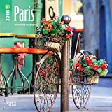 Paris 2018 7 x 7 Inch Monthly Mini Wall Calendar, Scenic Travel Europe France French