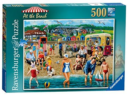 500pc Ravensburger Jigsaw Puzzle - Ravensburger at The Beach 500pc Jigsaw Puzzle