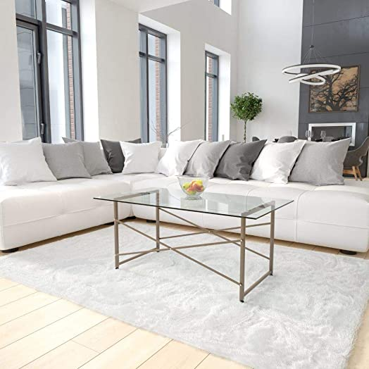 Flash Furniture Mar Vista Collection Glass Coffee Table