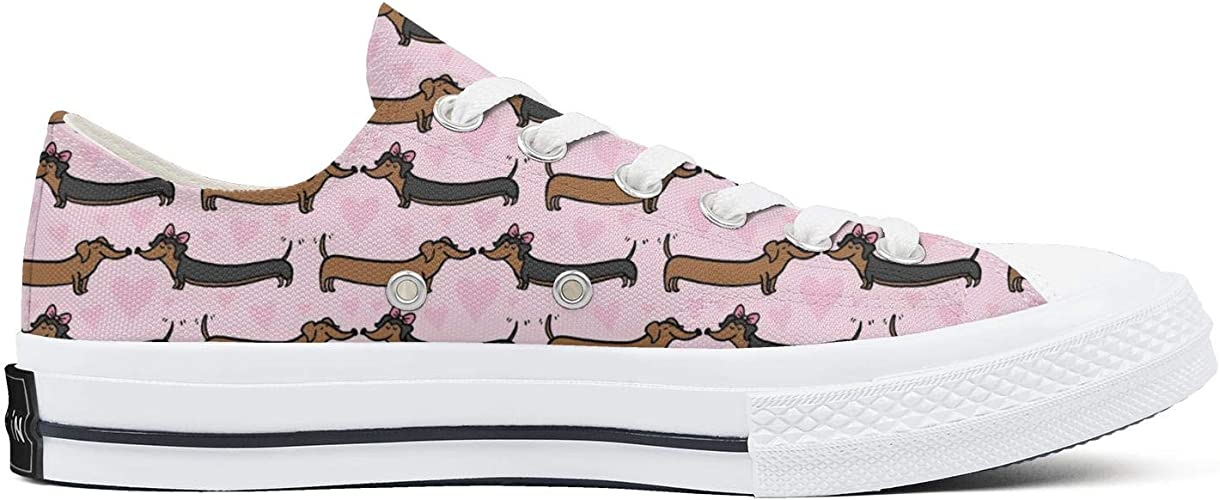 Siberian Husky And Donuts Women/¡s Casual Shoes Sneakers Flat Slip Fashion Vegan