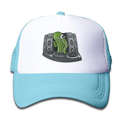 9ff487e0b220b Amazon.com  Aiw Wfdnn Cool Hip Hop DJ Cactus Mesh Baseball Cap ...