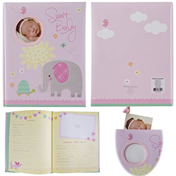 Stepping Stones Baby Memory Book Keepsakes & Baby Announcements Baby Books & Albums