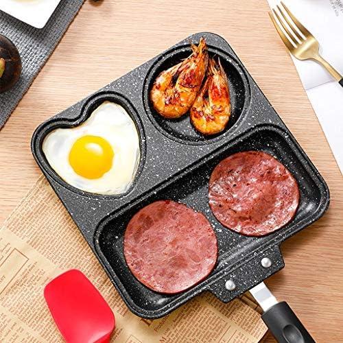 Zyrwj Sandwich Paninitoaster Toaster Waffeleisen Metall Süßigkeiten Instrument geteilt kompartimentiert Pfannen Kreis quadratisches Mehr vielseitig Pfannen Antihaftbeschichtung