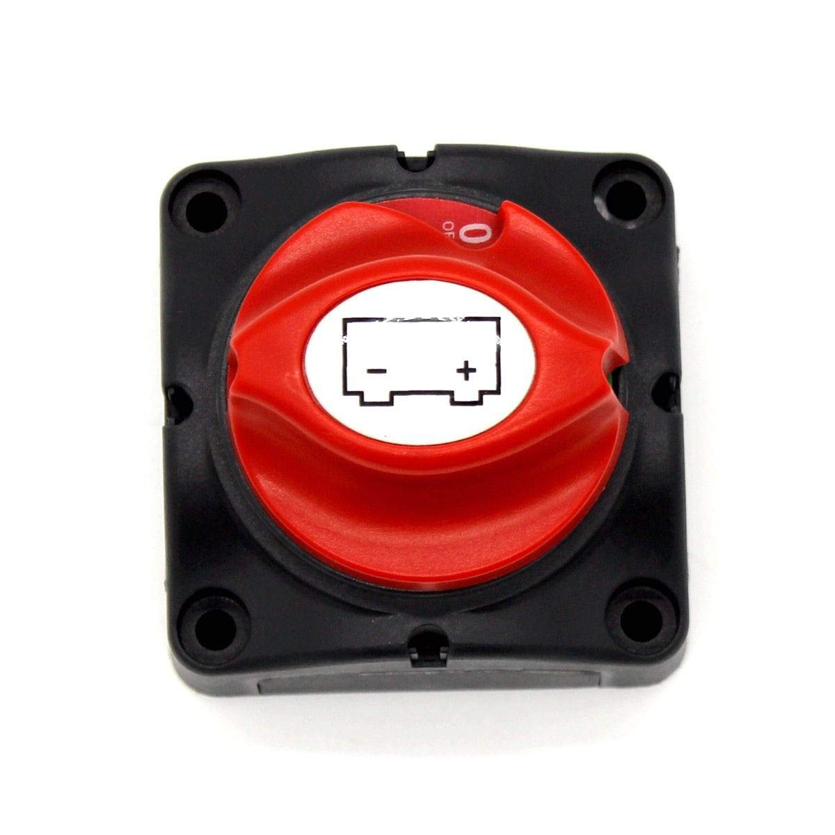Battery Disconnect Swich Hiapix 12-48V Battery Power Cut Master Isolator Disconnect Switch for Car ON//OFF Truck Vehicle Marine and Boat RV