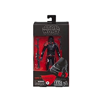 Star Wars The Black Series 6 Inch Action Figure Exclusive - Purge Trooper: Toys & Games