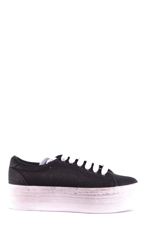 Jeffrey Campbell Damen MCBI163011O Schwarz Stoff Sneakers -
